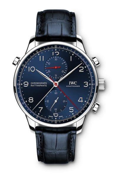Der IWC Portugieser Chronograph Rattrapante Edition Boutique Munich ist auf 250 Exemplare limitiert.