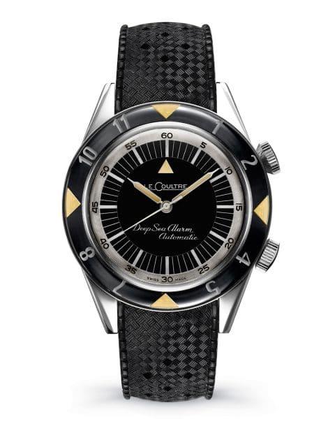 1959 erschien die Jaeger-LeCoultre Memovox Deep Sea als Taucheruhr, die akustisch ans Auftauchen erinnerte
