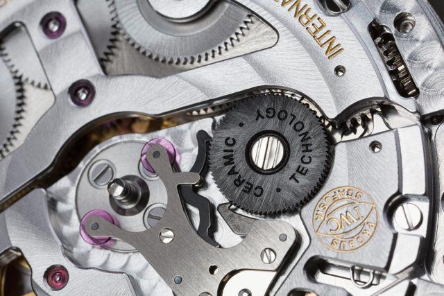 Verbessert: IWC reduziert den Verschleiß des Pellaton-Aufzugs durch mehr (schwarze) Keramik