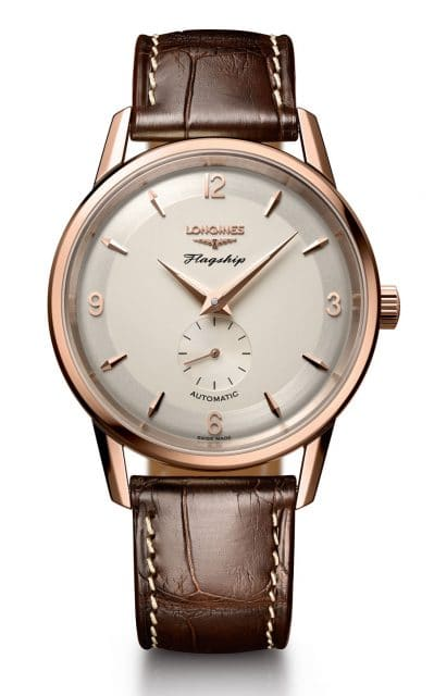 Longines Flagship Heritage 60th Anniversary in Rosegold