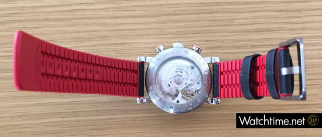 Teutonia Sport I mit nach Glashütter Art modifiziertem Uhrwerk
