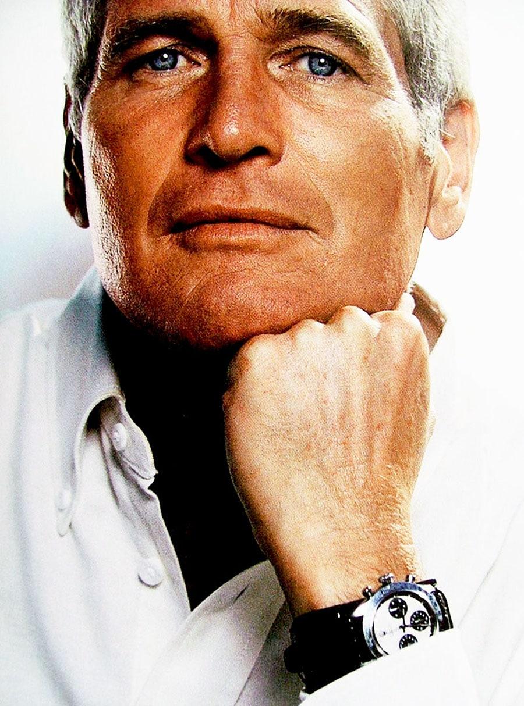 Paul Newman und seine Rolex Daytona (Foto: Jake's Rolex World website, www.rolexmagazine.com)