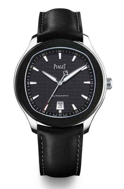 Piaget: Polo S mit schwarzem Zifferblatt