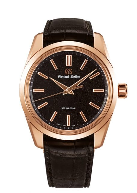 Grand Seiko: Spring Drive Eight-Day Power Reserve in Roségold