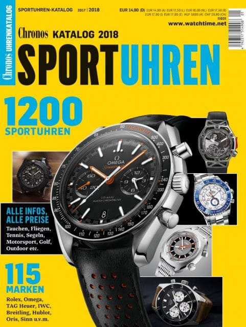 Chronos Sportuhren-Katalog 2017/18