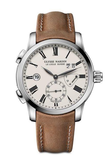 Ulysse Nardin: Classic Dual Time Enamel Boutique