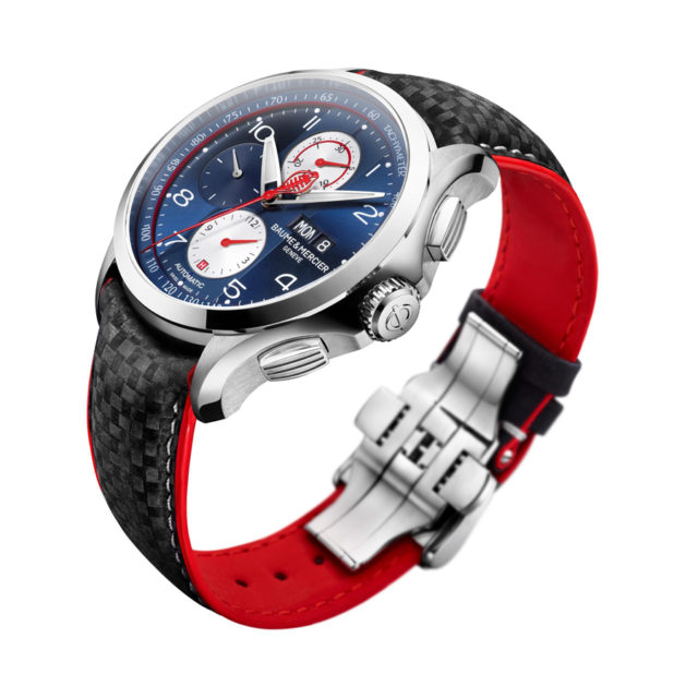 Baume & Mercier: Clifton Club Shelby Cobra in Blau