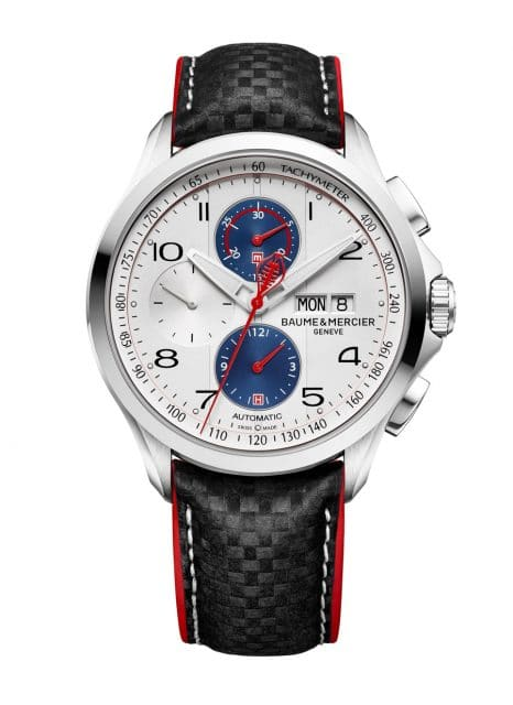 Baume & Mercier: Clifton Club Shelby Cobra in Weiß