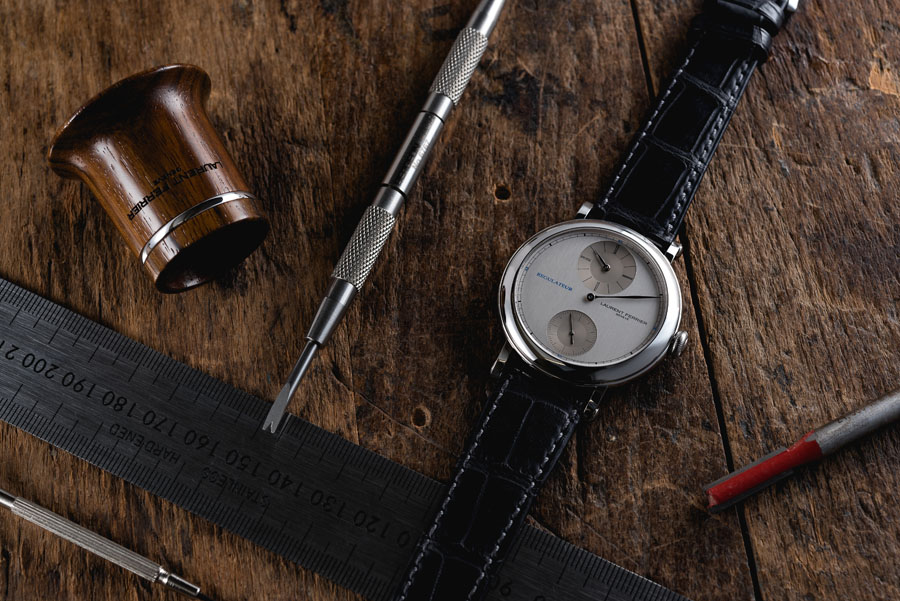 Laurent Ferrier: Galet Regulateur