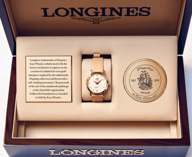 Longines: Flagship Heritage by Kate Winslet