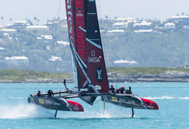 Omega: Sponsor von Emirates Team New Zealand