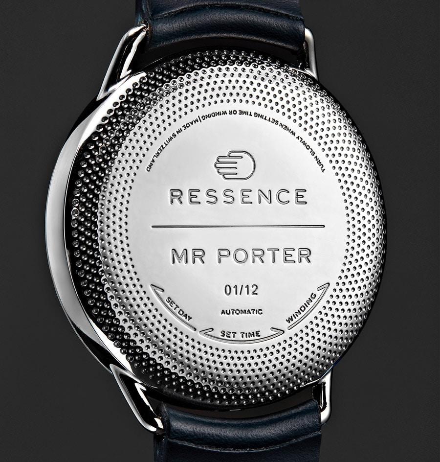 Ressence Type 1 MRP: Gehäuseboden