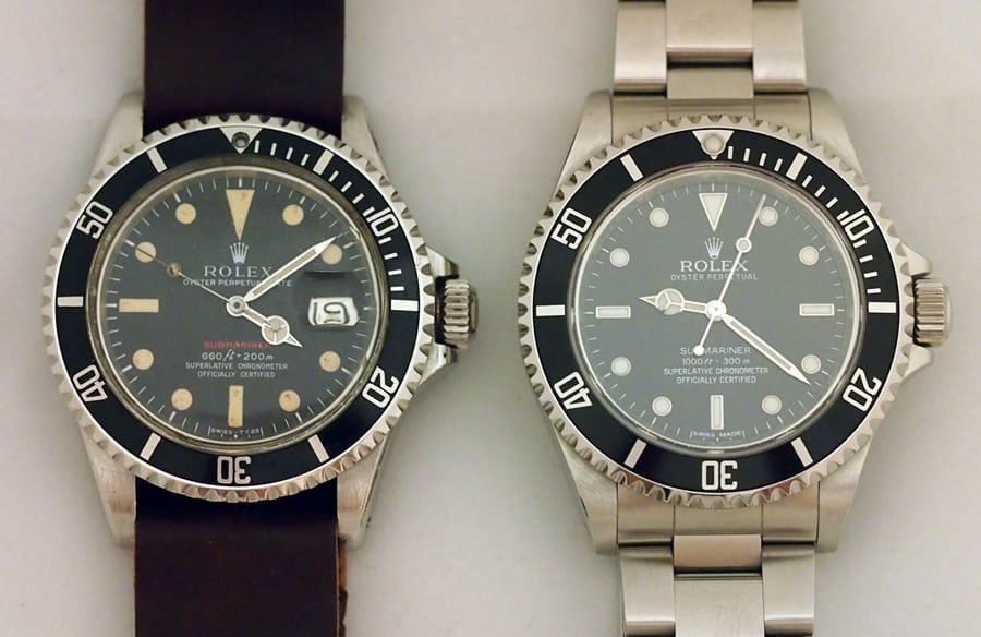 Rolex: Submariner 14060M und 5513