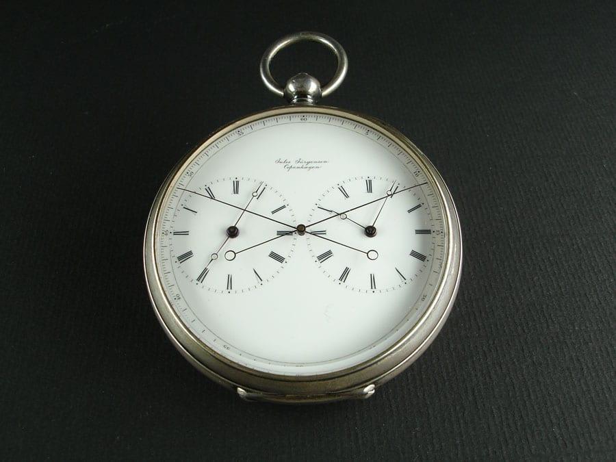 Taschenuhr Jules Jürgensen, Copenhagen, 19. Jahrhundert (Foto: Musée d'Horlogerie du Locle)