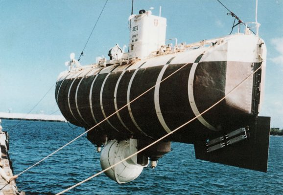Mit der Trieste ging es für eine Rolex-Uhr 1960 in die Tiefe.