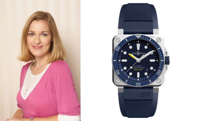 Katharina Studer, Redakteurin Watchtime.net, wählt die Bell & Ross BR 03-92 Diver