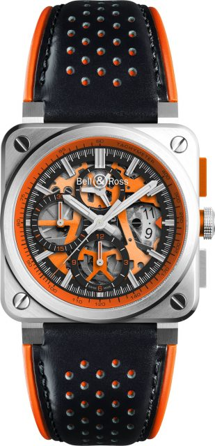 Bell & Ross: BR 03-94 Aero GT Orange