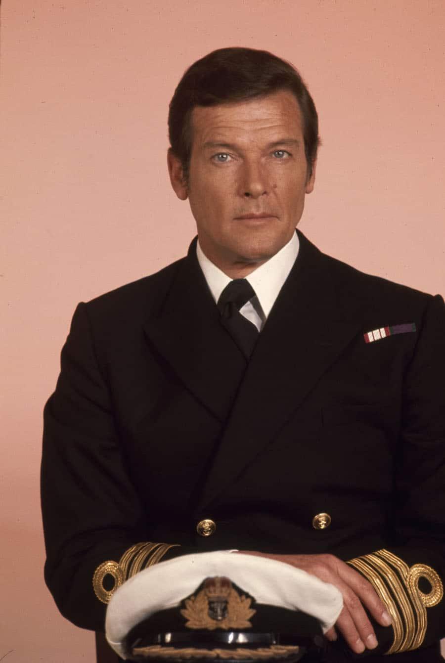 """Roger Moore in """"James Bond 007 – Der Spion, der mich liebte"""""""