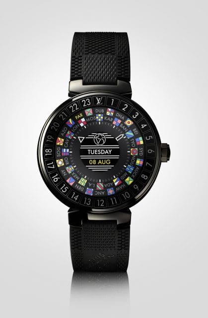 Louis Vuitton: Tambour Horizon Black