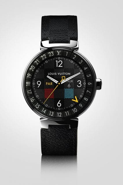 Louis Vuitton: Tambour Horizon Graphite