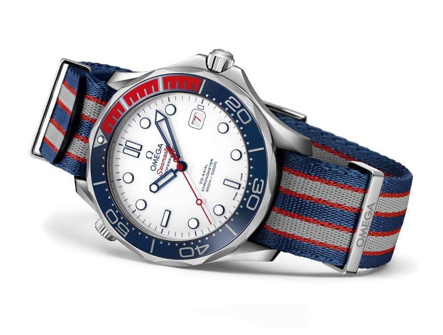 Omega: Seamaster Diver 300M Commander's Watch Limited Edition mit NATO-Band