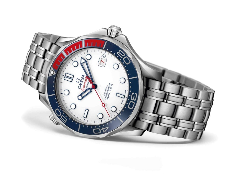 Omega: Seamaster Diver 300M Commander's Watch Limited Edition mit Stahlband