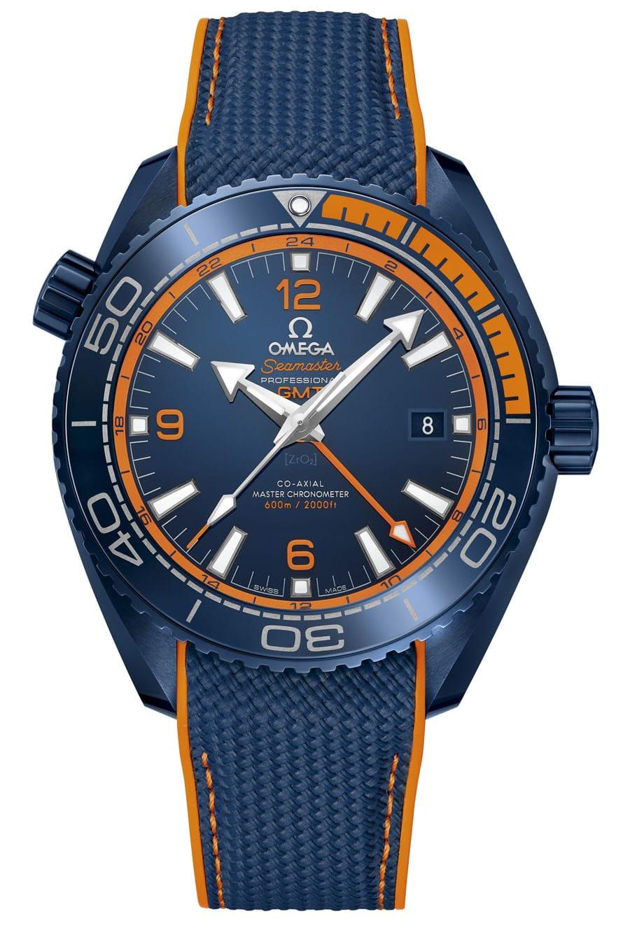 Platz 9 der beliebtesten Uhrenmodelle: Omega Seamaster Planet Ocean