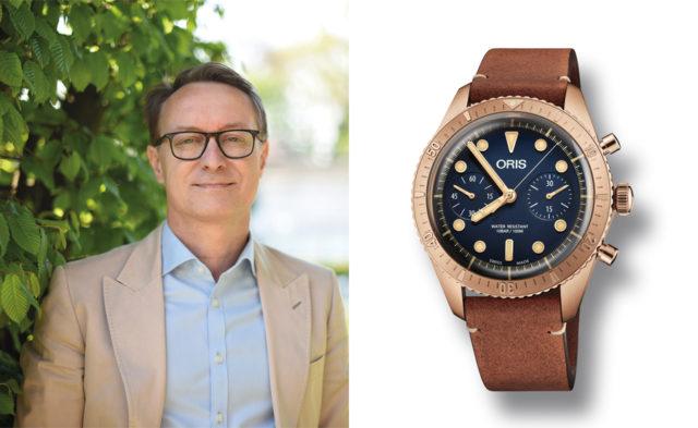 Der Carl Brashear Chronograph von Oris hat Holger Christmann, Chefredakteur UHREN-MAGAZIN, überzeugt