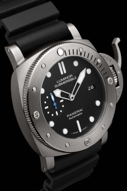 Panerai: Luminor Submersible 1950 3 Days Automatic Titanio