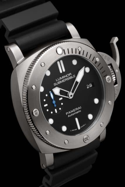 Panerai: Luminor Submersible 1950 3 Days Automatic Titanio