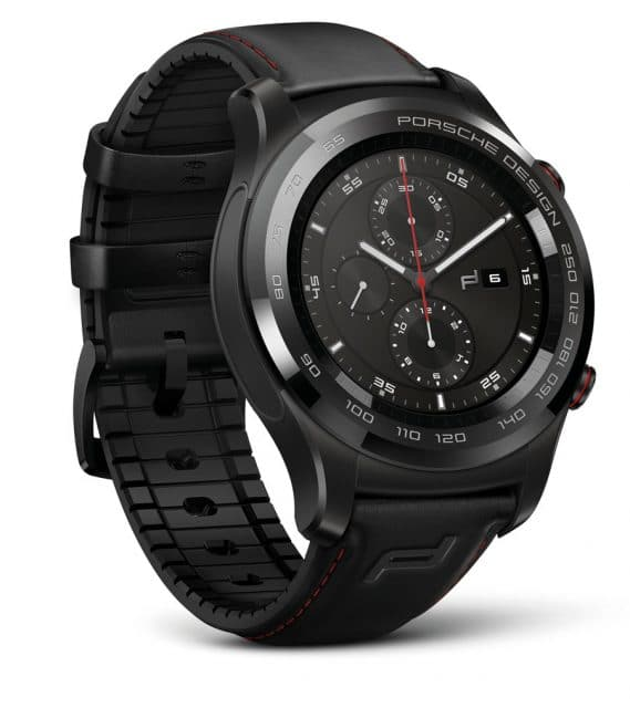 Die Smartwatch von Porsche Design sieht aus wie eine mechanische Uhr, bietet aber zahlreiche Funktionen einer Smartwatch