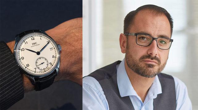 """Chronos-Redakteur Alexander Krupp gefällt die IWC Portugieser Hand-Wound Eight-Days Edition """"150 Years"""""""