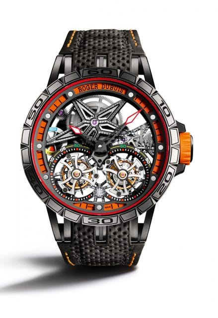 Roger Dubuis: Excalibur Spider Fliegendes Doppeltourbillon