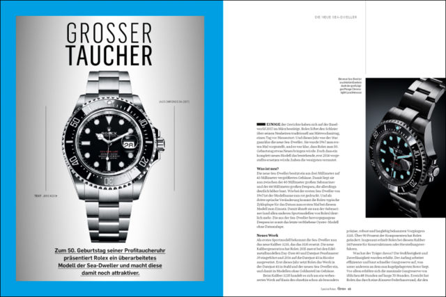 Rolex Sea-Dweller im Test