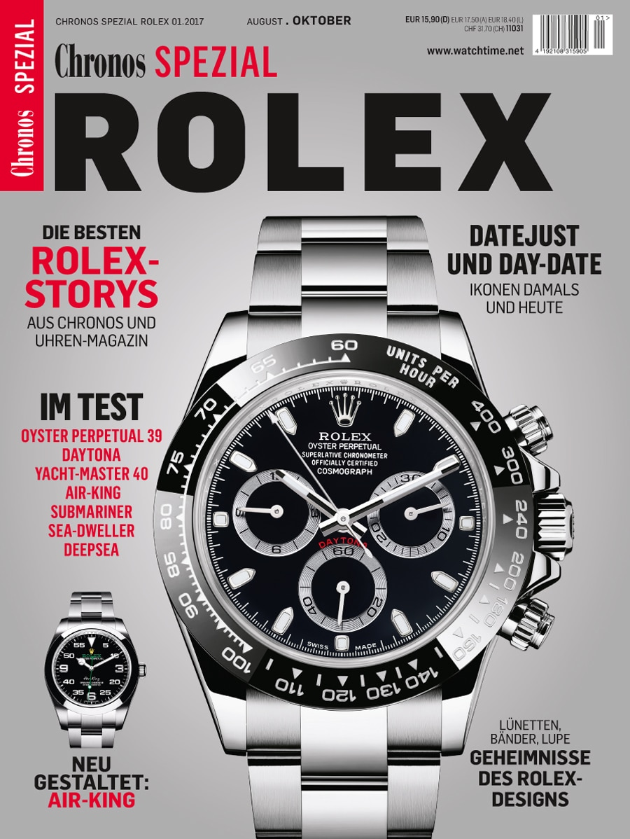 Chronos Spezial Rolex 2017