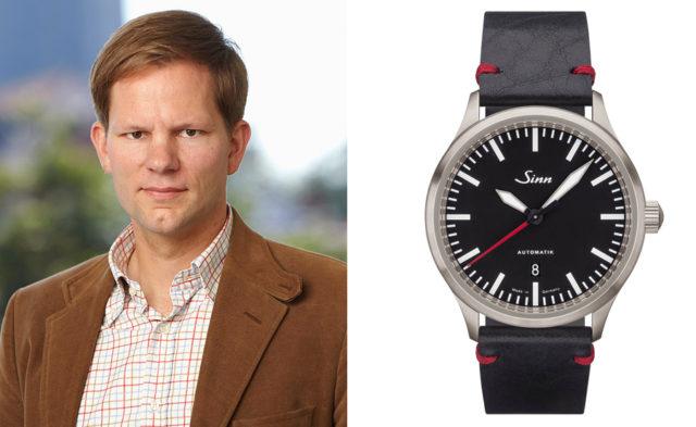 Chronos-Redakteur Jens Koch empfiehlt das Modell 836 von Sinn Spezialuhren