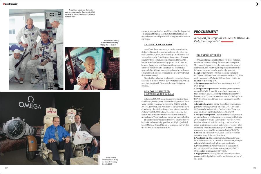 Speedy Tuesday Magazine: Astronauten spielen in der Geschichte der Speedmaster eine essenzielle Rolle
