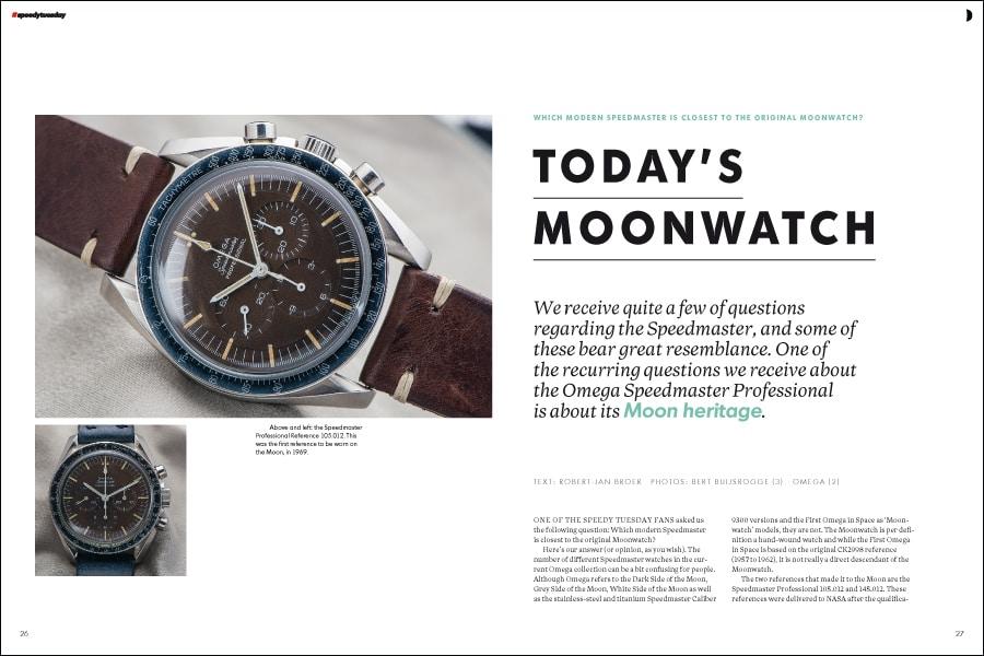 Speedy Tuesday Magazine: hier die erste Speedmaster, die auf dem Mond getragen wurde