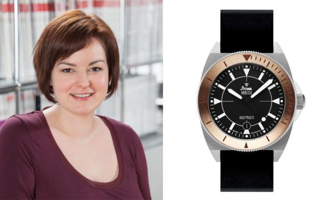 UHREN-MAGAZIN-Redakteurin Melissa Gößling wählt die Stowa Prodiver Olymp Bronze