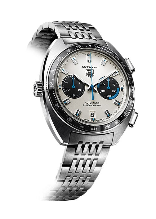 2003: Diese Uhr mit Eta-Werk und Dubois-Dépraz-Modul war die erste Autavia der Neuzeit