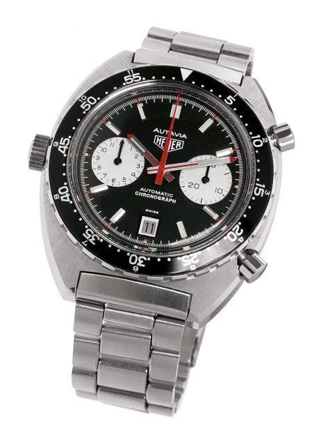 1969: Die Referenz 1163 war mit dem frühen Automatikchronographen-Kaliber 11 ausgestattet