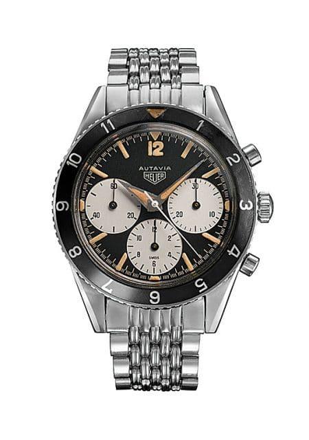 1962: Die erste Armbanduhr mit Namen Autavia war die Referenz 2446