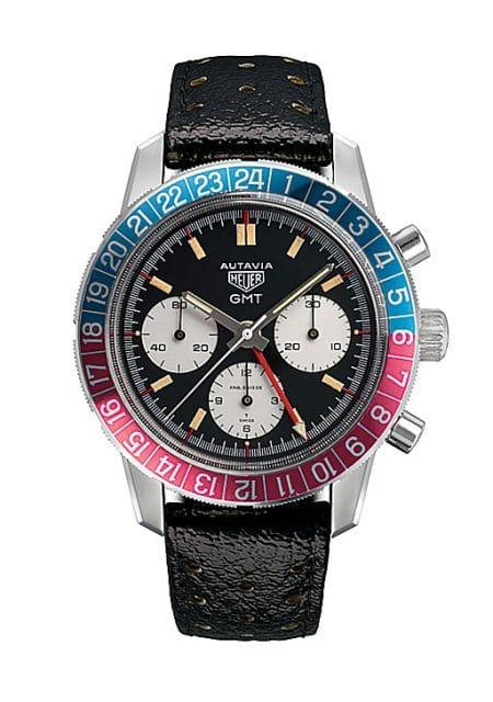 1968: Die Referenz 2446 GMT bot einen 24-Stunden-Zeiger für eine zweite Zonenzeit