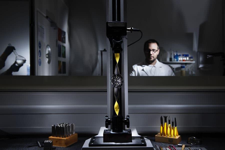 Das Testlabor von TAG Heuer in La-Chaux-de-Fonds
