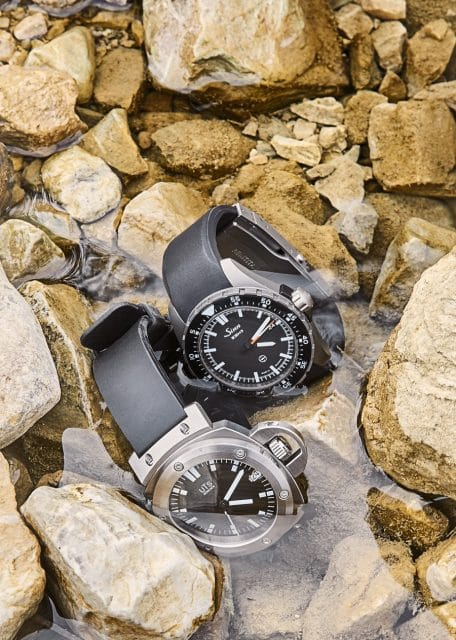 Sinn EZM 9 TESTAF vs. UTS Adventure Automatic