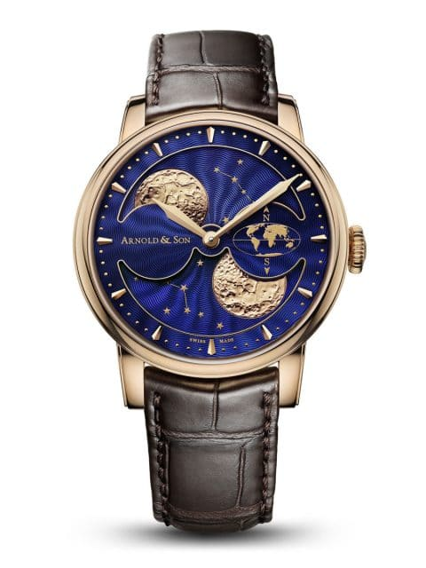 Arnold & Son: HM Double Hemisphere Perpetual Moon