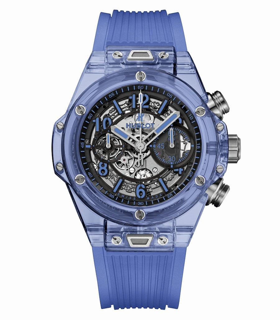 Hublot: Big Bang Unico Blue Sapphire