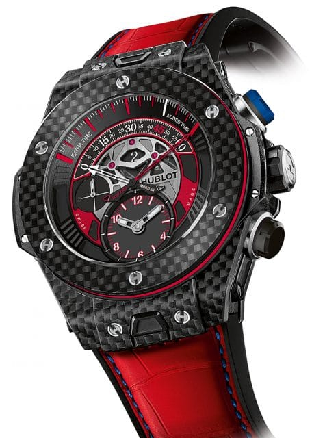 Hublot: Big Bang Unico Chronograph Retrograde FC Bayern München