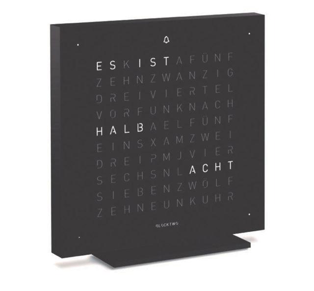 Biegert & Funk: Qlocktwo Touch Deep Black