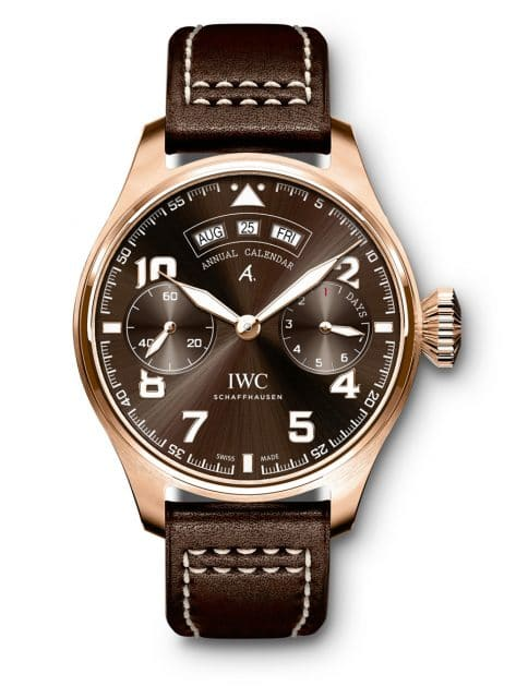 "IWC: Big Pilot's Watch Annual Calendar Edition ""Antoine de Saint-Exupéry"""